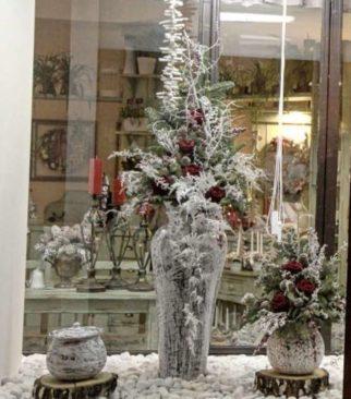 Aranže zimní a vánoční